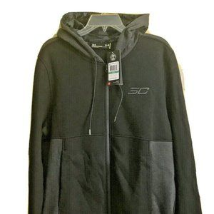 Large Under Armour SC Full Zip Fitted Mens Hoodie